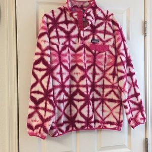 Patagonia synchilla snap pullover over size XL